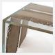 Tavolino living CONTINUO by BRICALE™ - Briccola di Venezia e vetro
