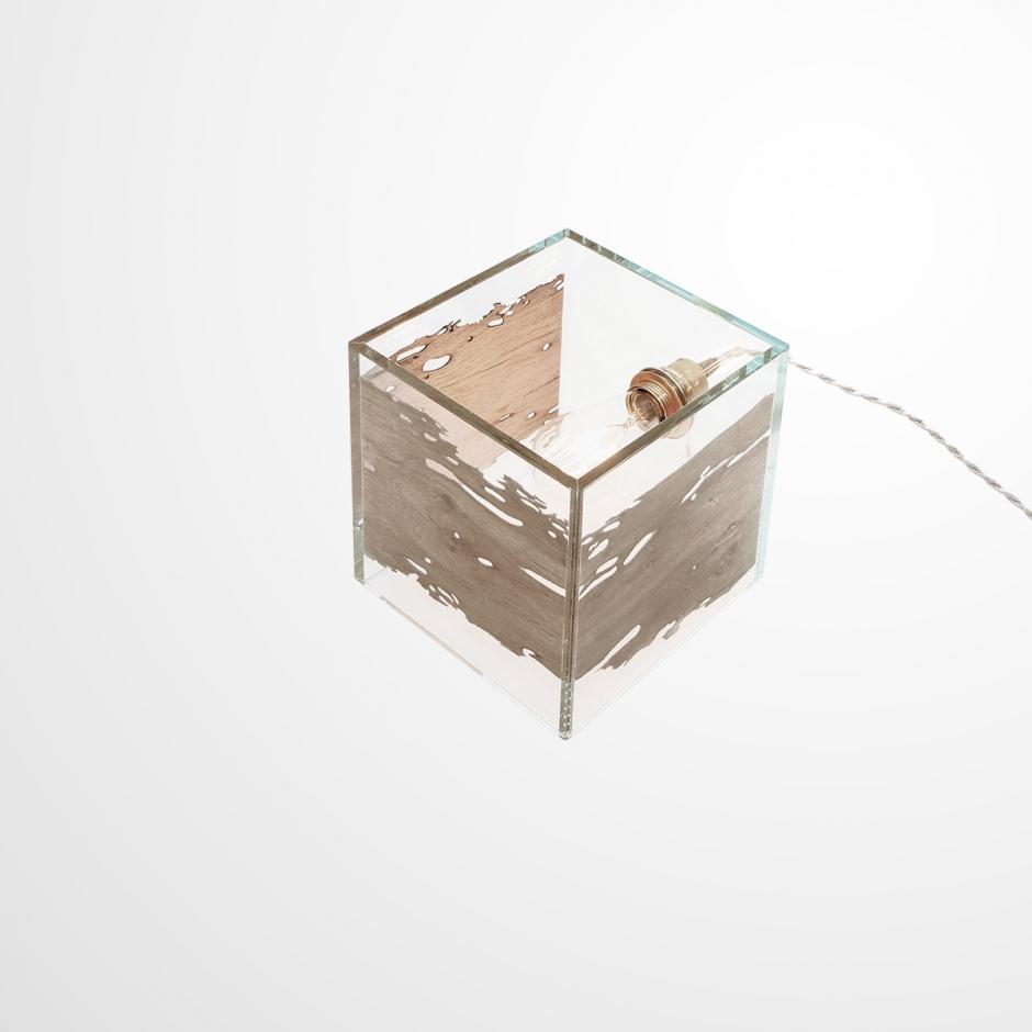 Lampada da tavolo CONTINUO by BRICALE™ - Briccola di Venezia e vetro
